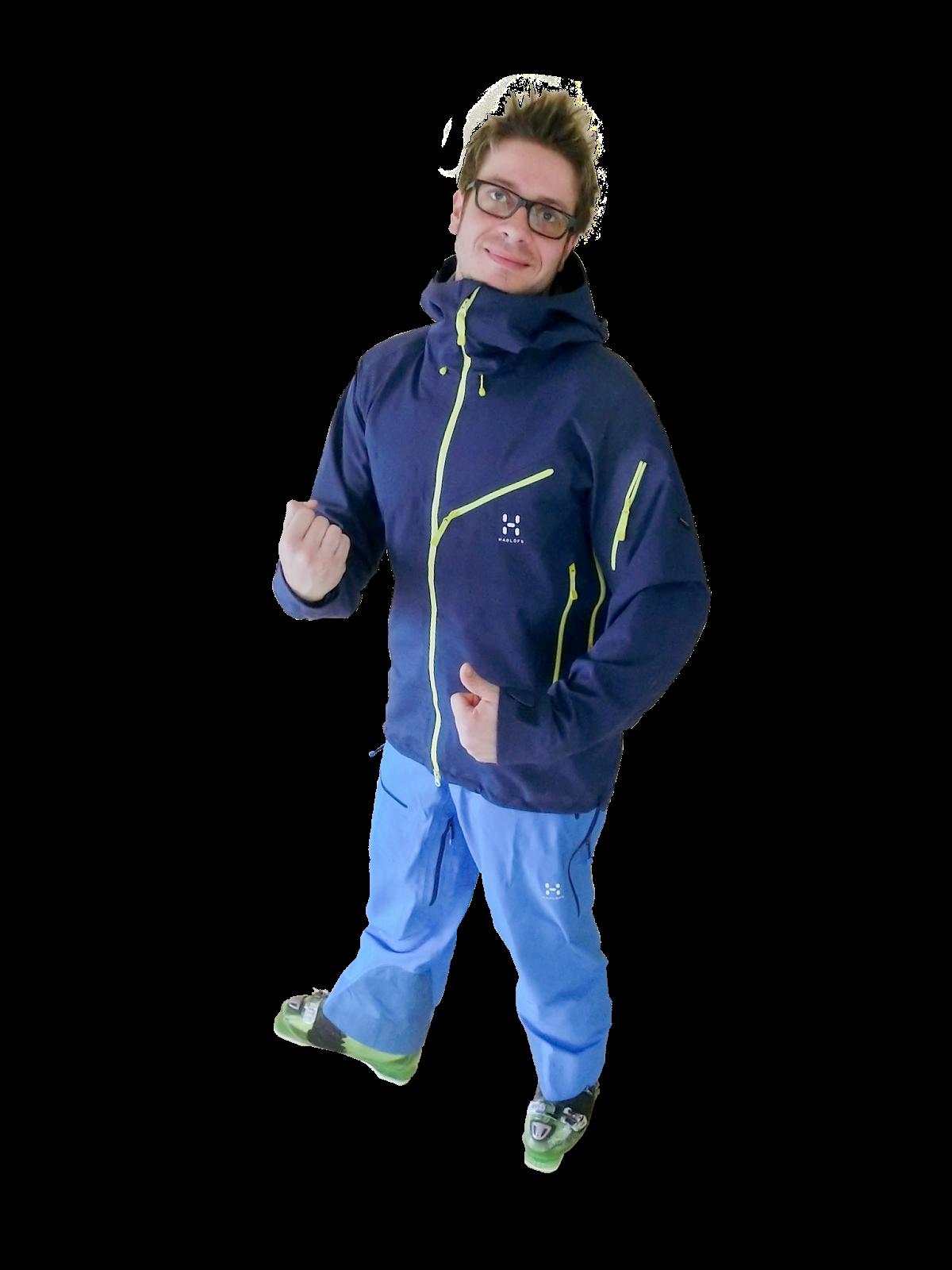 Haglöfs Couloir Pro Jacket / Couloir Pro Pant Test